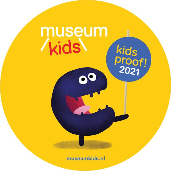 Museumkids Kidsproof museum 2021 logo